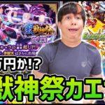 【モンスト】100万円使うか…!?激獣神祭『カエサル』を狙え!!